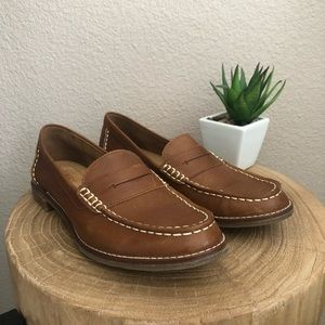 Sherry Topsider • Seaport leather penny loafers